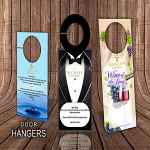 door hangers product