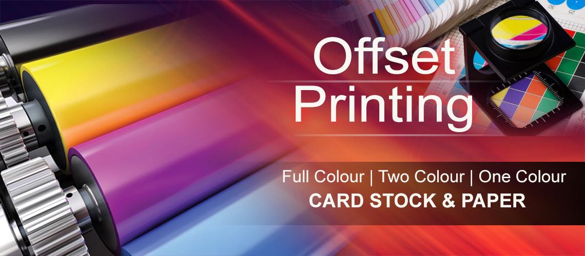 Offset Printing banner